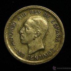 Monedas de España: MONEDA DE PLATA DE 50 CENTIMOS DE ALFONSO XIII DE 1926. Lote 50502953