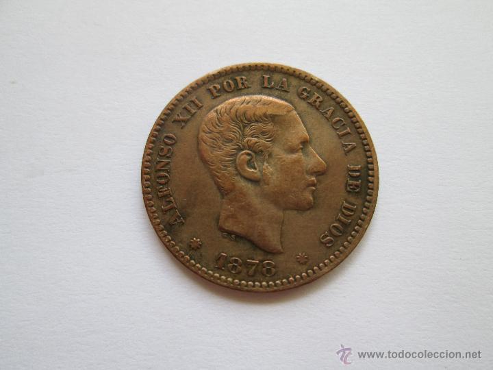 ALFONSO XII * 5 CENTIMOS 1878-OM BARCELONA (Numismática - España Modernas y Contemporáneas - De Isabel II (1.834) a Alfonso XIII (1.931))