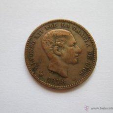 Monedas de España: ALFONSO XII * 5 CENTIMOS 1878-OM BARCELONA. Lote 51459580