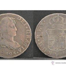 Monedas de España: 2 REALES 1825 SEVILLA JB FERNADO VII PLATA ESPAÑA. Lote 51653756