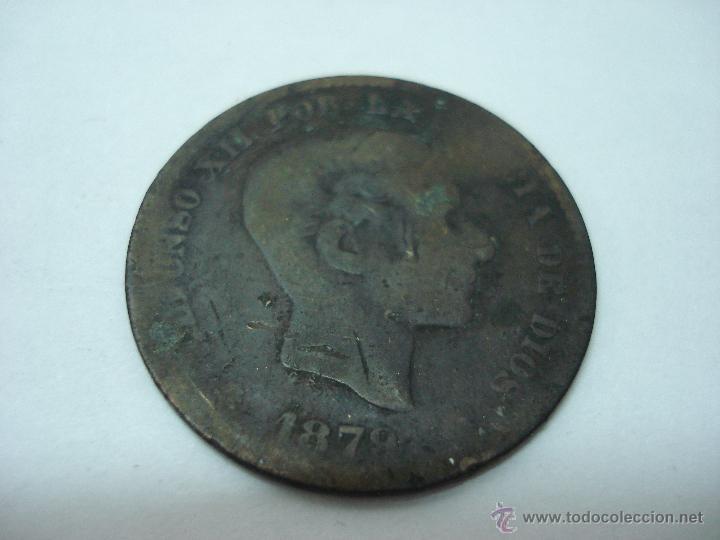 Monedas de España: LOTE 79 MONEDAS ANTIGUAS DE 2 CENTIMOS 1870, 5 CENTIMOS 1870, 1878, 1879 Y 10 CENTIMOS 1877-79 - Foto 2 - 51765508