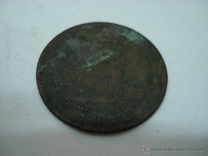 Monedas de España: LOTE 79 MONEDAS ANTIGUAS DE 2 CENTIMOS 1870, 5 CENTIMOS 1870, 1878, 1879 Y 10 CENTIMOS 1877-79 - Foto 7 - 51765508