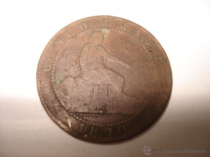 Monedas de España: LOTE 79 MONEDAS ANTIGUAS DE 2 CENTIMOS 1870, 5 CENTIMOS 1870, 1878, 1879 Y 10 CENTIMOS 1877-79 - Foto 25 - 51765508