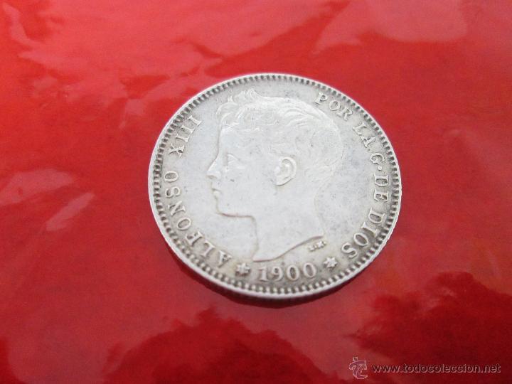 Monedas de España: AªMONEDA-ESPAÑA-1 PESETA ALFONSO XIII-1900*00-PLATA-24 mm.D-BUEN ESTADO-VER FOTOS.. - Foto 5 - 37074935