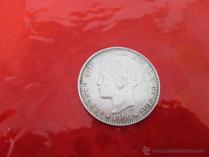 Monedas de España: AªMONEDA-ESPAÑA-1 PESETA ALFONSO XIII-1900*00-PLATA-24 mm.D-BUEN ESTADO-VER FOTOS.. - Foto 7 - 37074935
