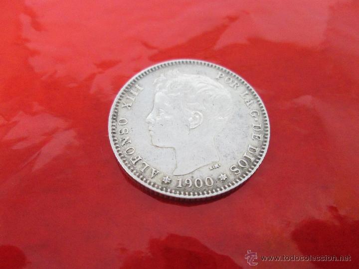 Monedas de España: AªMONEDA-ESPAÑA-1 PESETA ALFONSO XIII-1900*00-PLATA-24 mm.D-BUEN ESTADO-VER FOTOS.. - Foto 10 - 37074935