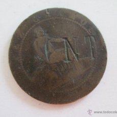 Monedas de España: GOBIERNO PROVISIONAL * 10 CENTIMOS 1870 * RESELLADO * CNT . Lote 51979302