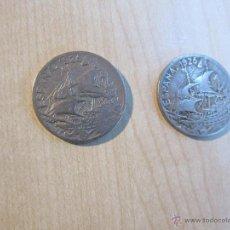 Monedas de España: DOS MONEDAS DE 25 CÉNTIMOS DE 1925 REINADO DE ALFONSO XIII. Lote 52468271