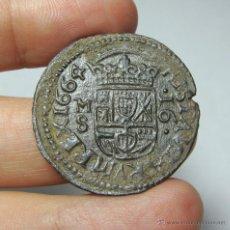Monedas de España: 16 MARAVEDÍS. FELIPE IV. MADRID - 1664. Lote 52662450
