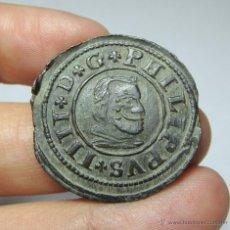 Monedas de España: 16 MARAVEDIS. FELIPE IV. SEGOVIA - 1663. Lote 52663574