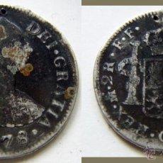 Monedas de España: CARLOS III 2 REALES 1778. Lote 52767707