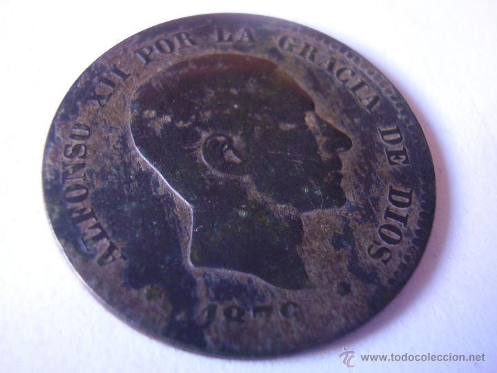 10 CÉNTIMOS ALFONSO XII 1879 (Numismática - España Modernas y Contemporáneas - De Isabel II (1.834) a Alfonso XIII (1.931))
