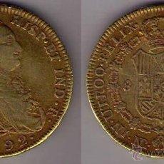 Monedas de España: ESPAÑA - 8 ESCUDOS DE ORO (1 ONZA ESPAÑOLA) DE CARLOS IIII DE 1792. Lote 53134590