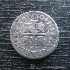 Monedas de España: 1/2 REAL. FELIPE V. MADRID 1730.. Lote 48476989