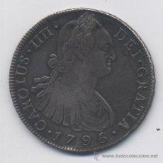 Monedas de España: CARLOS IV- 8 REALES- 1795-GUATEMALA-M-EBC+. Lote 53378507