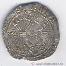 Monedas de España: REYES CATOLICOS- 4 REALES- SEVILLA-D. Lote 53384380
