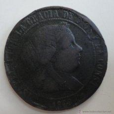 Monedas de España: CÉNTIMOS 1868. ISABEL II. Lote 53419061