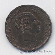 Monedas de España: ALFONSO XII- 5 CENTIMOS-1878-OM-SC. Lote 53488555