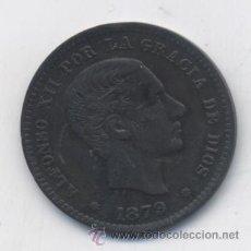 Monedas de España: ALFONSO XII- 5 CENTIMOS-1879-OM-SC-. Lote 53488580