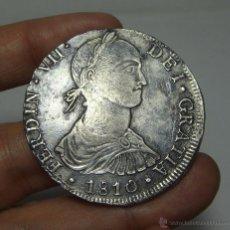 Monedas de España: 8 REALES. PLATA. FERNANDO VII. LIMA - 1810 - JP (BUSTO INDÍGENA). Lote 172060253