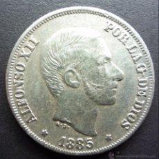 Monedas de España: 10 CENTAVOS DE PESO DE 1885 ••• EXCELENTE BUENA CONSERVACION ••• MANILA ••• ALFONSO XII. Lote 53668867