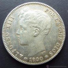 Monedas de España: 1 PESETA DE 1900*19-00 ••• EXCELENTE BUENA CONSERVACION ••• ALFONSO XIII. Lote 53669044