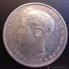 Monedas de España: 1 PESETA DE 1899*18-99 ••• EXCELENTE BUENA CONSERVACION+++ ••• ALFONSO XIII. Lote 53669073