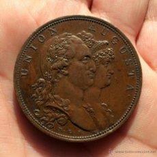Monedas de España: CARLOS IV. MEDALLA MÉTODO MULTIPLICAR TROQUELES 1.801 EXCELENTE CALIDAD!. Lote 53795592