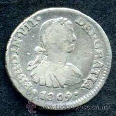 Monedas de España: FERNANDO VII : 1/2 REAL 1809 MEJICO (PLATA). Lote 53931286