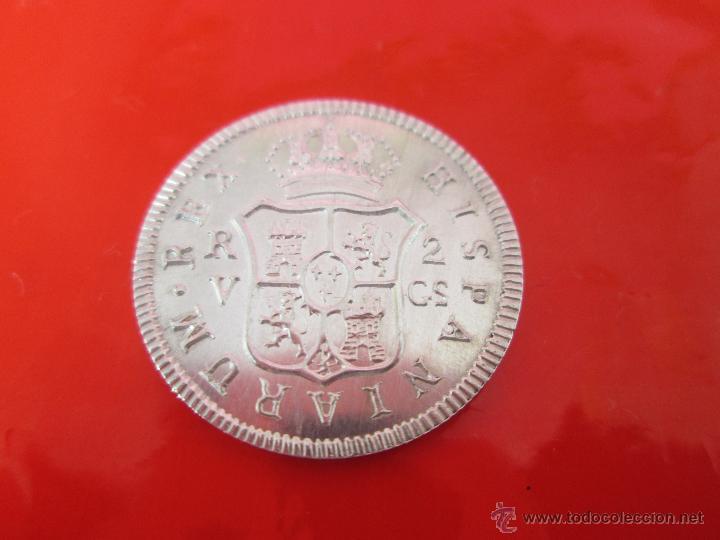 Monedas de España: MONEDA-COLECCIÓN-PLATA-FERDIN VII-2 REALES 1811-23 MM.D-4,0 GRS-. - Foto 2 - 39352925