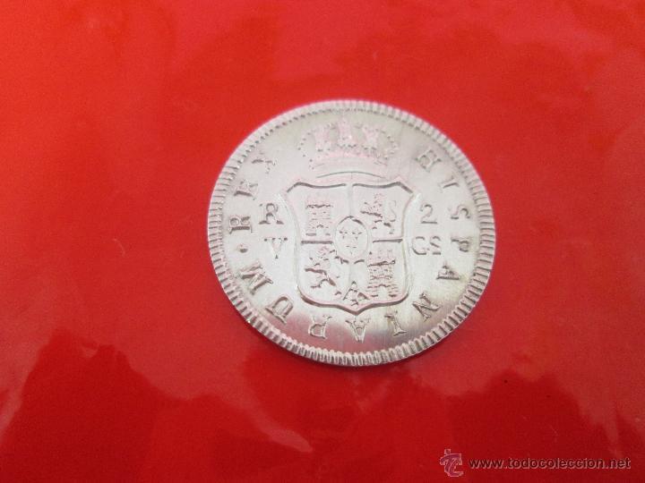 Monedas de España: MONEDA-COLECCIÓN-PLATA-FERDIN VII-2 REALES 1811-23 MM.D-4,0 GRS-. - Foto 4 - 39352925