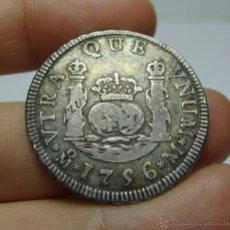 Monedas de España: 2 REALES (COLUMNARIO). PLATA. FERNANDO VI. MEXICO - 1756 - M. Lote 218491745