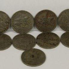 Monedas de España: MO-200 - COLECCIÓN DE 17 MONEDAS EN COBRE-NIQUEL. ALFONSO XIII. 1925.. Lote 51401097