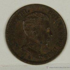 Monedas de España: MO-076. COLECCION DE 2 MONEDAS EN COBRE. ALFONSO XIII. UN CENTIMO. 1906.. Lote 50457119