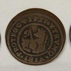 Monedas de España: MO-153 - COLECCIÓN DE 3 MONEDAS EN COBRE,FELIPE V. 1718. 2 MARAVEDIS.. Lote 50631302