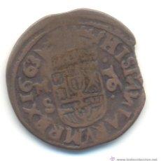 Monedas de España: AB- 16 MARAVEDIS 1663 SEGOVIA FELIPE IV. Lote 54926085
