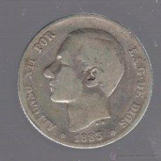 Monedas de España: MONEDA DE 1 PESETA. 1883. ALFONSO XII. MSM. Lote 55023431