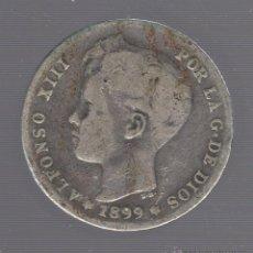 Monedas de España: MONEDA DE 1 PESETA. 1899. ALFONSO XIII. SGV. Lote 55024384