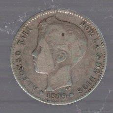 Monedas de España: MONEDA DE 1 PESETA. 1899. ALFONSO XIII. SGV. Lote 55025292