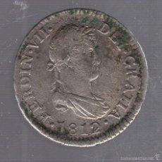 Monedas de España: 2 REALES. FERNANDO VII. 1812. CADIZ. VER IMAGEN. Lote 55170630