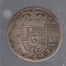 Monedas de España: 2 REALES. FELIPE V. 1717. SEGOVIA J. VER IMAGENES. Lote 55172522