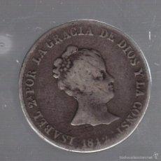 Monedas de España: 4 REALES. ISABEL II. 1842. BARCELONA. VER IMAGEN. Lote 55229962