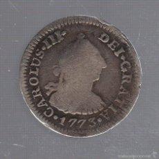 Monedas de España: 1/2 REAL. CARLOS III. 1773. MEJICO. VER IMAGENES. Lote 55230357