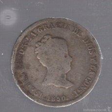 Monedas de España: 2 REALES. ISABEL II. 1850. SEVILLA. VER IMAGENES. Lote 55230432