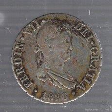 Monedas de España: 2 REALES. FERNANDO VII. 1828. SEVILLA. VER IMAGEN. Lote 55309151