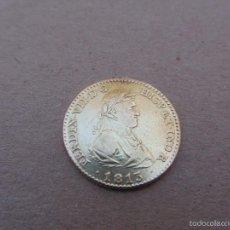 Monedas de España: MONEDA 2 ESCUDOS FERNANDO VII 1813 ORO MADRID IJ. Lote 55319180