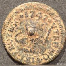 Monedas de España: 1 MARAVEDI SEGOVIA 1747 MARAVEDIS FERNANDO VI ESPAÑA. Lote 55345093