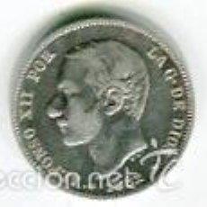 Monedas de España: DOS (2) PESETAS ALFONSO XII AÑO 1882 *18 *82 PLATA. Lote 55514417