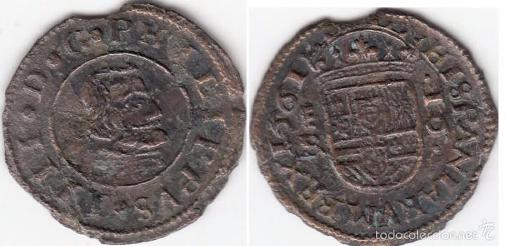FELIPE IV: 16 MARAVEDIS 1661 SEGOVIA - BR (Numismática - España Modernas y Contemporáneas - De Reyes Católicos (1.474) a Fernando VII (1.833))