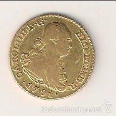Monedas de España: MONEDA DE ESCUDO DE CARLOS IIII (IV) ACUÑADA EN MADRID EN 1791 ENSAYADOR MF. ORO. MBC- 0208. Lote 55933066